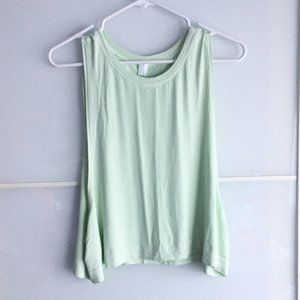 A by Avocado NWT Artic Muscle Crop Tank Top